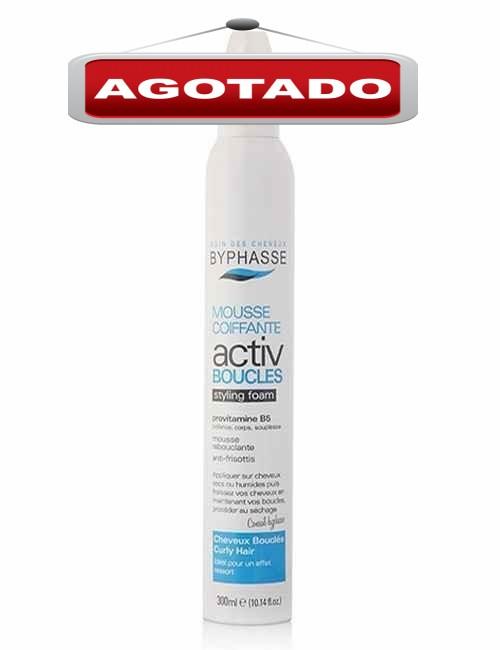 Espuma Capilar Moldeadora para cabellos rizados