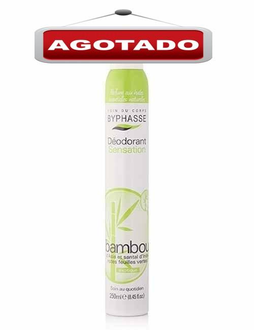 Desodorante en spray para mujer aroma a extracto de Bambú