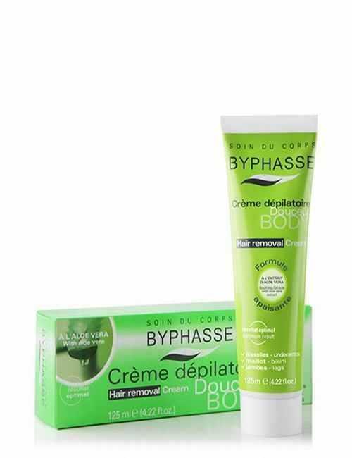 Crema Depilatoria corporal de Aloe Vera 125 ml