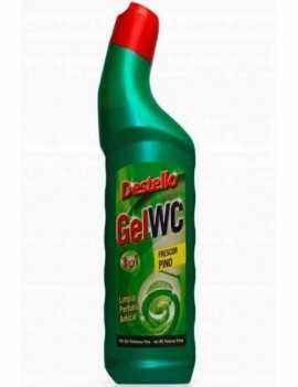 Gel Limpiador de WC con aroma a Pino