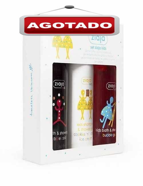 Pack de Geles para Niños con aromas divertidos para los mas peques