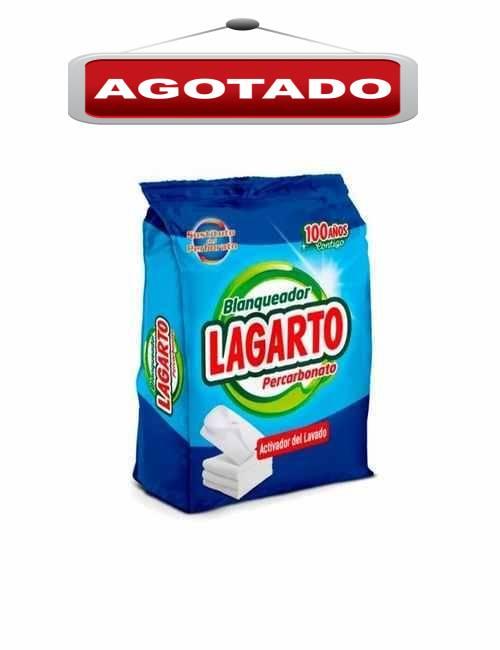 Blanqueador de ropa marca Lagarto