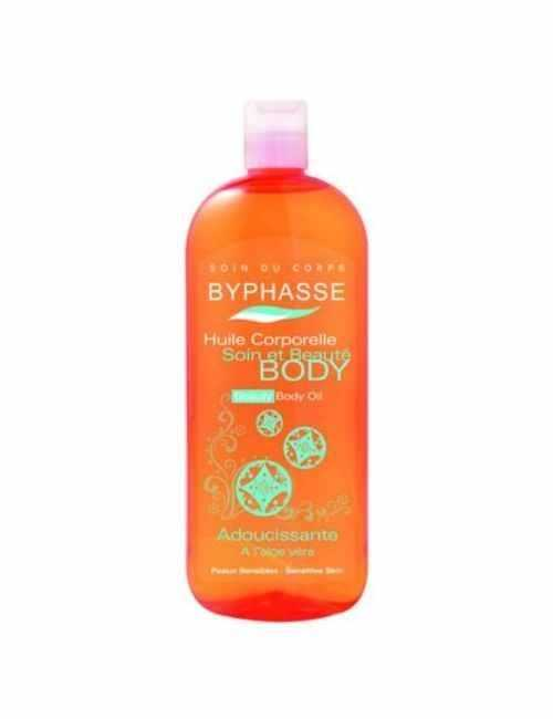 Aceite Corporal con Aloe Vera hidrata tu piel marca Byphasse