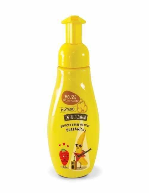 Jabón de Manos en Mousse con aroma a Plátano. Te encantara