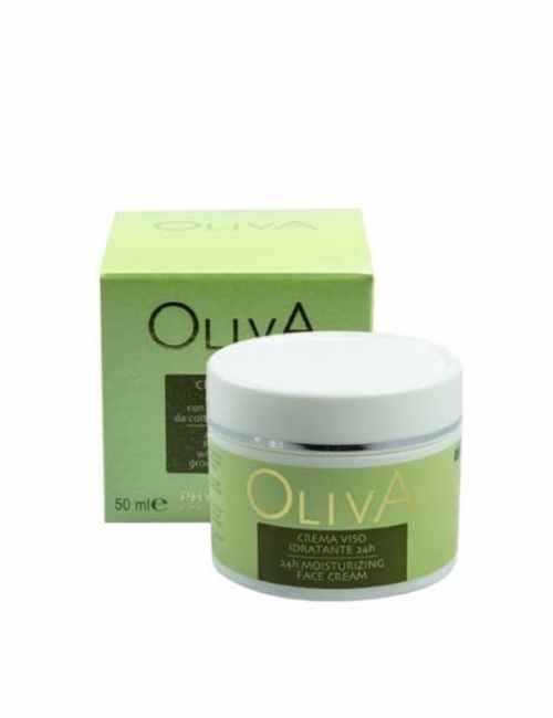 Crema Facial para el día con aceite de Oliva