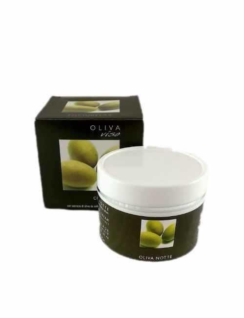 Crema Facial para la noche con aceite de Oliva