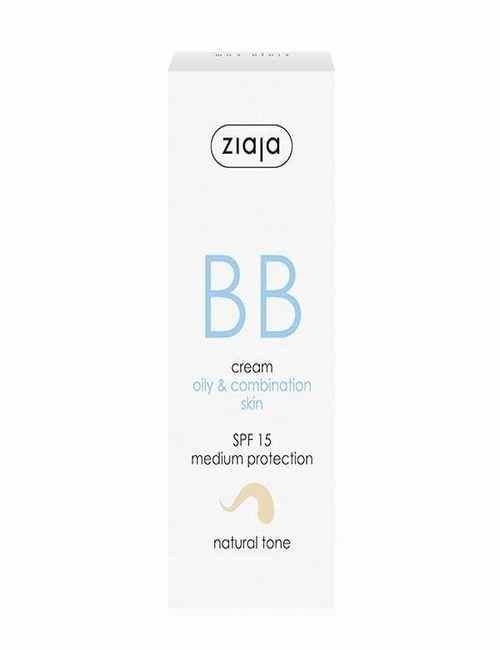 BB Cream para cara pieles mixtas y grasas con un color claro Natural