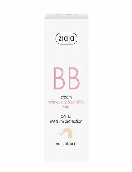 BB Cream para cara pieles Normales Secas y Sensibles con un color Natural