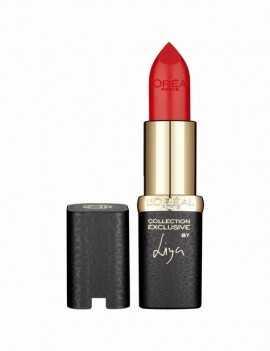 Pintalabios cremoso color rojo muy favorecedor marca Loreal