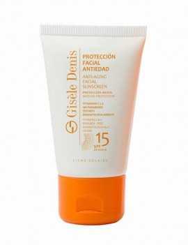 Protección Solar para la cara SPF 15 marca Gisele Denis