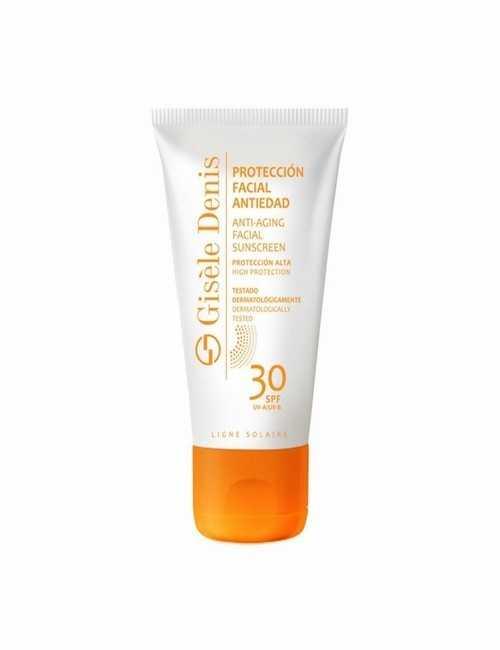 Protección Solar para la cara SPF 30 marca Gisele Denis