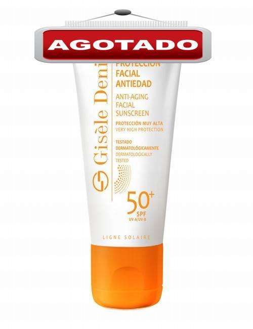 Protección Solar para la cara SPF 50 marca Gisele Denis