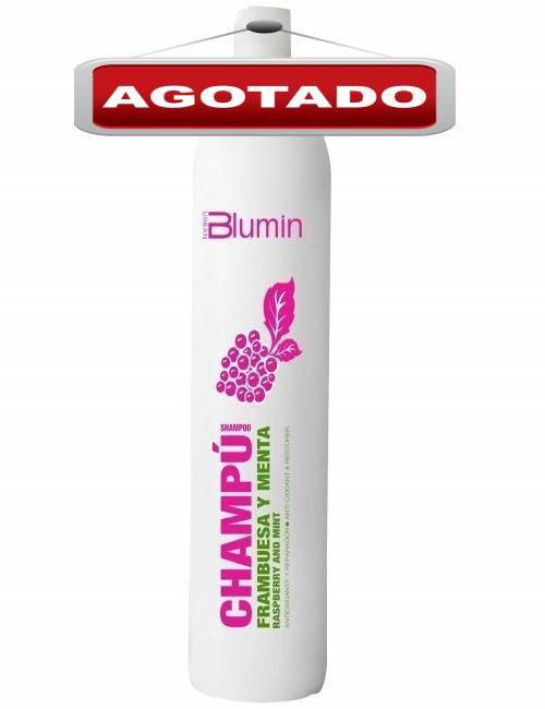 Champu marca Blumin aroma a Frambuesa y Menta contiene 1 litro