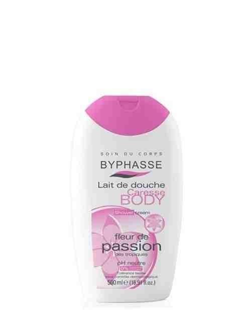 Crema de ducha hidrata tu piel bajo la ducha con aroma a Flor de Passion