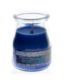 Vela Vaso pequeña aroma a Marino