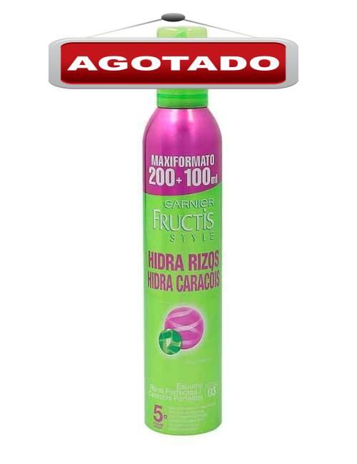 Espuma para cabello rizos o ondulados marca Fructis