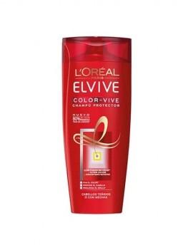 Champú para cabello teñido o mechas protege el color marca Elvive de Loreal