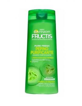 Champú Purificante para cabellos grasos marca Fructis