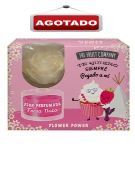 Flor Perfumada Fresa y Nata...
