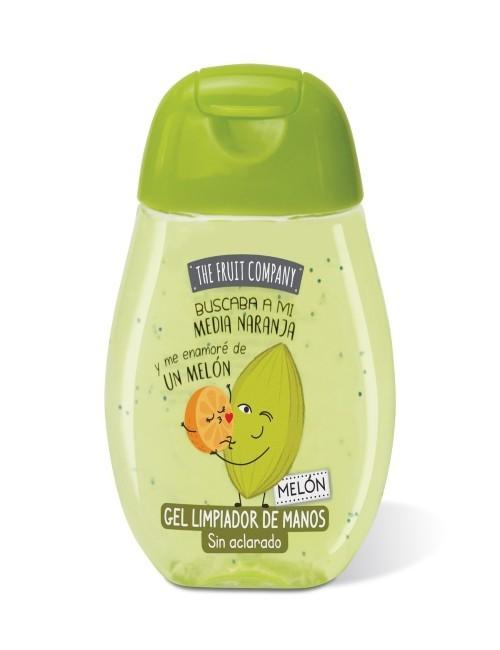 gel limpiador para manos aroma melón