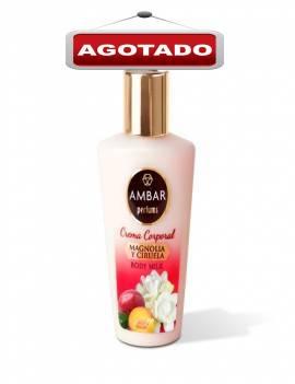 Crema Corporal hidratante con aroma a Magnolia y Ciruela. Tamaño ideal para viaje