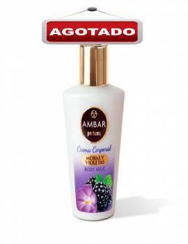 Crema Corporal hidratante con aroma a Moras y Violetas. Tamaño ideal para viaje