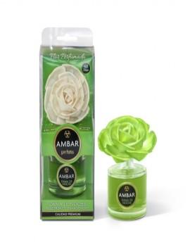 Mikado en flor aroma a Dama de Noche marca Ambar