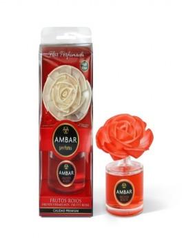 Mikado en flor aroma a Frutos Rojos marca Ambar