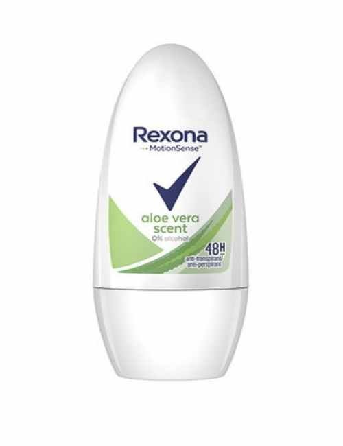 Desodorante Rexona con aloe vera en roll On