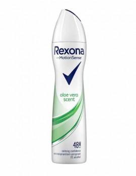 Desodorante Rexona con aloe vera en spray