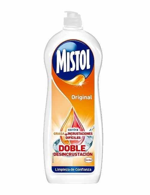 Lavavajillas a mano marca Mistol Original