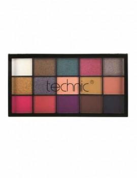 Paleta de sombras de ojos con 15 colores distintos