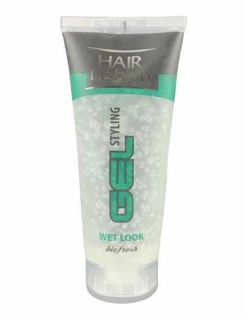 Gel Fijación para cabello Efecto Mojado para que tu peinado aguante todo el día