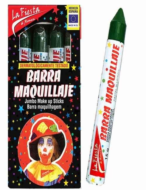 Pintura de Carnaval para el rostro color Verde