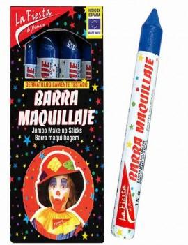 Maquillaje Carnaval color Azul