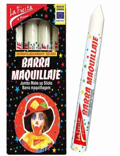 Pintura de Carnaval para el rostro color Blanco