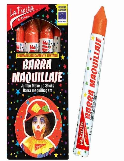 Pintura de Carnaval para el rostro color Naranja