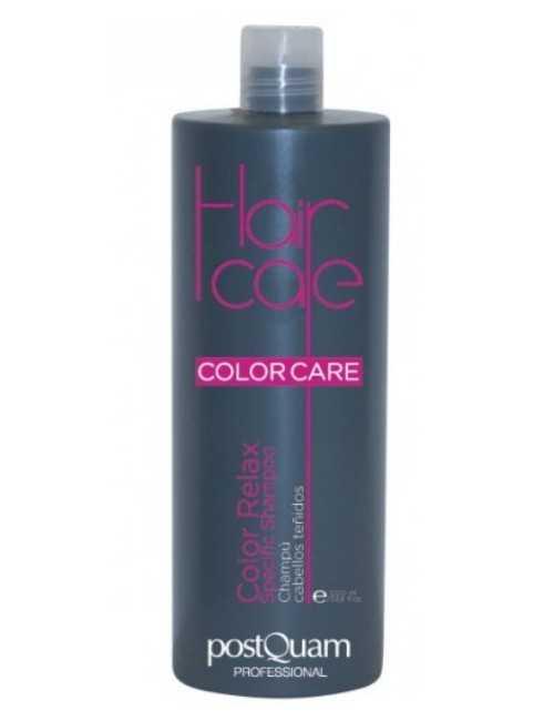 Champú de peluquería para cabellos teñidos 1 litro