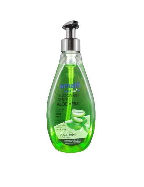 Jabón de manos de Aloe vera cuida tus manos
