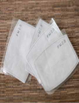 Pack de 4 filtros para mascarilla reutilizable tamaño niños
