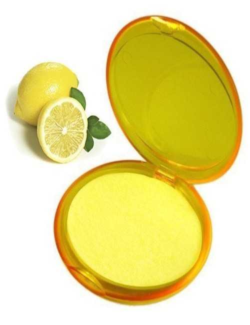 Papel de Jabón para llevar a donde tu vallas aroma a Limón