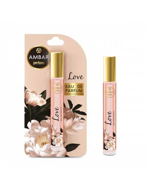 Perfume de mujer marca Ambar con olor a Love