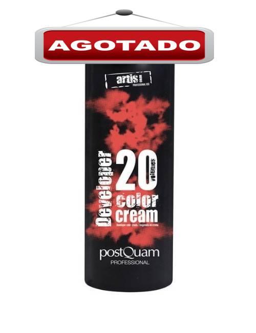 Oxigenada crema para mezclar con tinte profesional de 1 Litro
