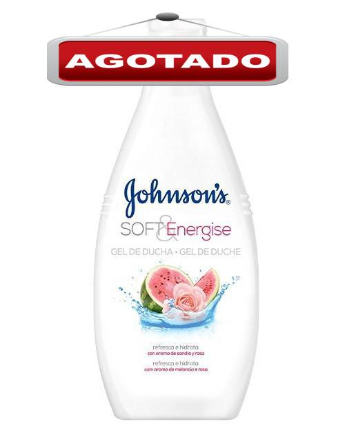 Gel de Ducha Johnsons aroma a Sandia y Rosa