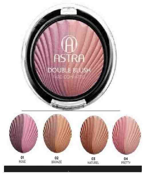 Maquillaje Cara Colorete con dos colores para combinar