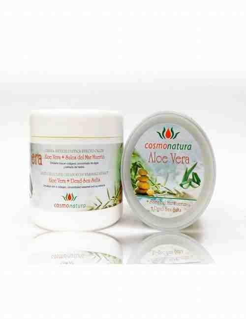 Crema Anticelulitica Efecto calor con Aloe Vera formato de 500 ml