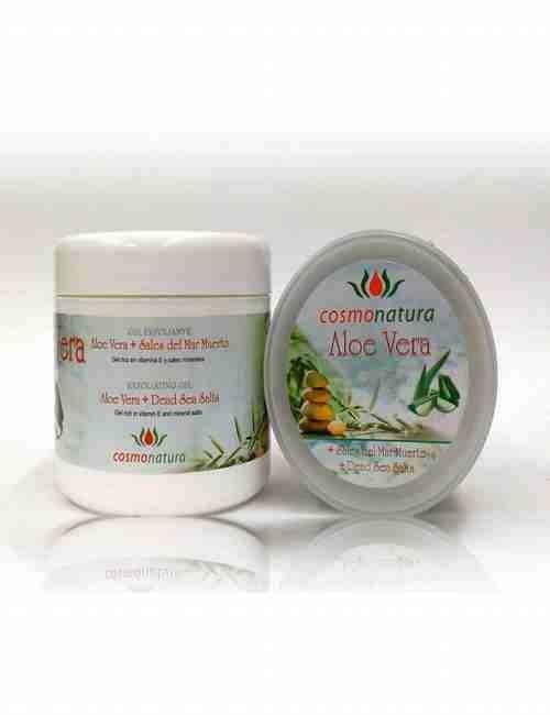 Gel Exfoliante de cuerpo con Aloe Vera formato de 500 ml