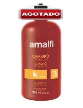 Champú keratina 900 ml