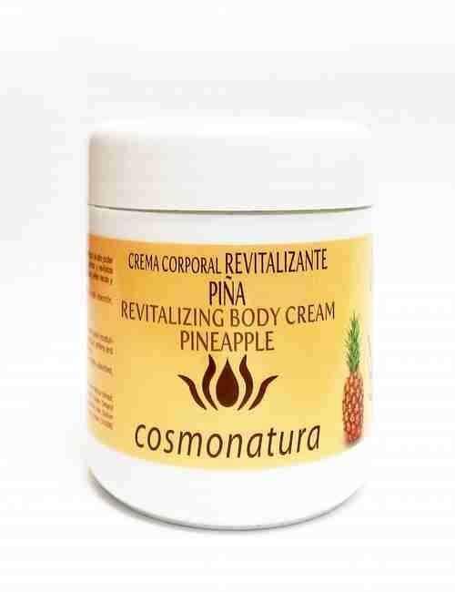Crema Corporal Revitalizante con aroma a Piña