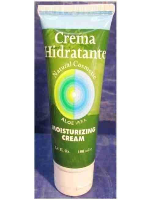 Crema de Cara Hidratante con Aloe Vera